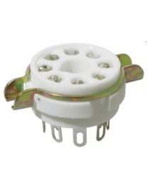 JJ Electronic Socket per valvole 8 Pin Ceramic  60380015