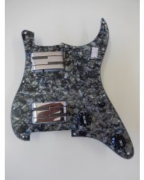 LACE ALUMITONE LOADED PICKGUARD HH BLACK/CHROME