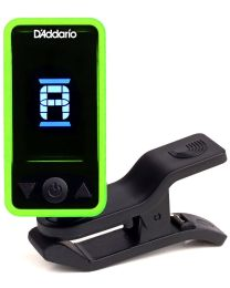 D'ADDARIO PLANET WAVES PW CT 17GN ECLIPSE TUNER ACCORDATORE CROMATICO A CLIP COLORE VERDE