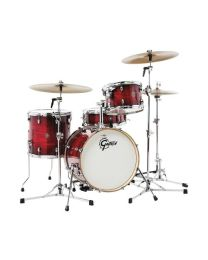 Gretsch Shell-set Catalina Club Gloss Crimson Burst CT1-J484-GCB batteria acustica