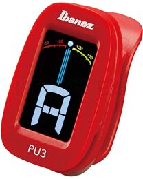 IBANEZ PU3 BL Accordatore a Clip ROSSO