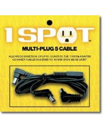 1SPOT VISUAL SOUND MC5 MULTI PLUG ALIMENTAZIONE PER 5 PEDALI