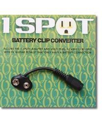 1SPOT VISUAL SOUND CBAT BATTERY CLIP ADATTATORE PER PILA