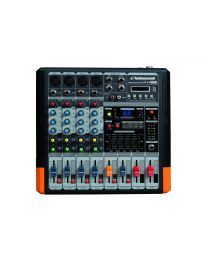 TECHNOSOUND MF44 MP3 MIXER 4 CANALI CON PLAYER MP3
