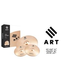 ISTANBUL AGOP ART SET DI PIATTI - RIDE 20 - CRASH 16 E HI HAT 14