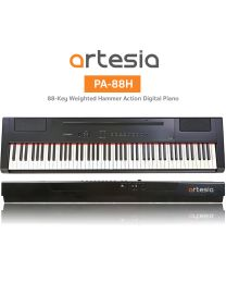ARTESIA PA88H+ BLACK  PIANOFORTE DIGITALE 88 TASTI PESATI NERO