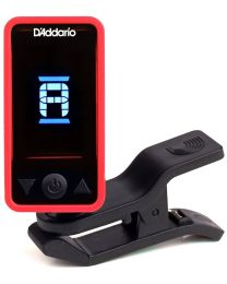 D'ADDARIO PLANET WAVES PW CT 17RD ECLIPSE TUNER ACCORDATORE CROMATICO A CLIP COLORE ROSSO