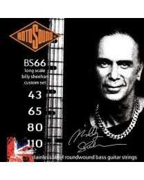 ROTOSOUND BS66 BILLY SHEEAN SIGNATURE SET CORDE PER BASSO 4 CORDE 43/110