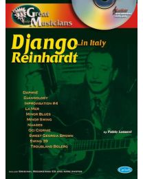 Django Reinhardt: Great Musicians Series (Django in Rome) SPARTITO