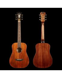 D'ANGELICO PREMIER UTICA ARCHED BACK NATURAL MAHOGANY CHITARRA ACUSTICA 3/4