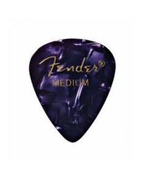 FENDER 351 CONFEZIONE 144 PLETTRI IN CELLULOIDE MEDIUM PURPLE MOTO VIOLA PERLATO 0982351376