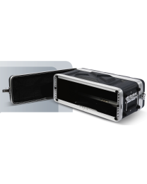 "PROEL FOABSR2US FORCE FLIGHT CASE 2 UNITA' RACK IN ABS ""LOW PROFILE"" PER EFFETTI-MICROFONI RADIO"