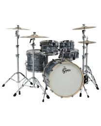 GRETSCH RENOWN MAPLE SILVER OYSTER PEARL BATTERIA ACUSTICA