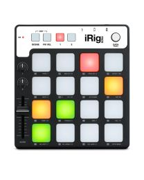 IK MULTIMEDIA iRig Pads MIDI GROOVE CONTROLLER PER IPHONE / IPAD / IPOD TOUCH / MAC E PC