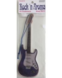 Rock'n Aroma Profumatore d'ambiente Blues Berry a forma di chitarra Stratocaster