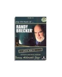 AEBERSOLD VOLUME 126 PLAY THE MUSIC OF RANDY BRECKER INCLUDE 2 CD BASI JAZZ