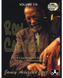 AEBERSOLD VOLUME 115 RON CARTER (INCLUDE 2 CD) BASI JAZZ