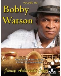 "AEBERSOLD VOLUME 119 BOBBY WATSON ""ETA"" AND 12 MORE JAZZ FAVORITES (CD INCLUSO) BASI JAZZ"
