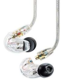SHURE SE215 CLE AURICOLARI AD ISOLAMENTO SONORO IN EAR MONITOR HEADPHONES