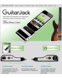 SONOMA GUITARJACK MODEL 2 PER IPAD IPHONE MIC+GUITAR CONTEMPORANEAMENTE