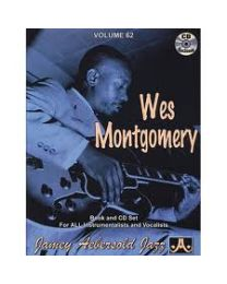 AEBERSOLD VOLUME 62 WES MONTGOMERY (INCLUDE CD) BASI JAZZ