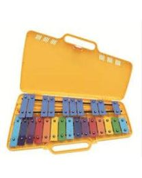 ANGEL GLOCKENSPIEL AG25N3/AX25N3 METALLOFONO CROMATICO 25 PIASTRE COLORATE 400132