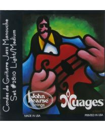 John Pearse 2810LM Nuages  muta Corde per chitarra acustica Gypsy Jazz - Silver Plated Wrapped  11/46