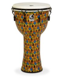 TOCA SFDMX 14KB FREESTYLE DJEMBE DA 14 POLLICI COLORE KENTE CLOTH CON BORSA 803262