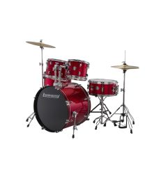 LUDWIG LC17014 ACCENT FUSE BATTERIA ACUSTICA RED FOIL