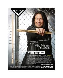 VATER VHMMWP COPPIA DI BACCHETTE IN LEGNO WICKED PISTON SIGNATURE MIKE MANGINI