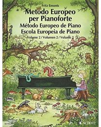 Metodo Europeo per Pianoforte 2 Fritz Emonts