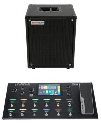 HEADRUSH 60021 HEADRUSH PEDALBOARD + RED SOUND RS-LG12 ACTIVE BLACK