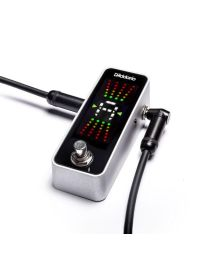 D'Addario PW CT 20 Chromatic Pedal Tuner ACCORDATORE A PEDALE