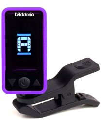 D'ADDARIO PLANET WAVES PW CT 17PR ECLIPSE TUNER ACCORDATORE CROMATICO A CLIP COLORE VIOLA