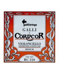 GALLI Strings RC310 MUTA CORDE PER VIOLONCELLO CORDER CHROME STEEL ROPE CORE