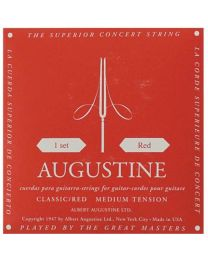 AUGUSTINE SET RED CORDE PER CHITARRA CLASSICA MEDIUM TENSION 530022 NYLON