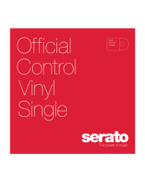 SERATO SCV-PS-RED-SG 12'' Serato Standard Colors RED (Singolo)