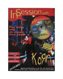 Korn In Session With Guitar Play Along 6 Songs! Tab Book Cd