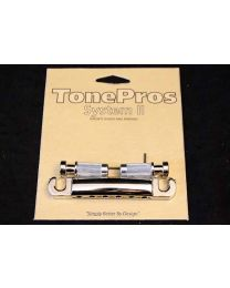 TONEPROS T1Z-N Locking Stop Bar Tailpiece NICKEL 320031