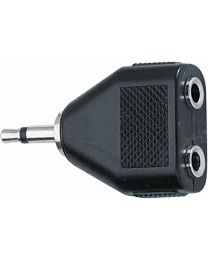 Quik Lok AD/267 Adattatore audio 2 Jack 3.5 mm mono femmina/Jack 3.5 mm mono