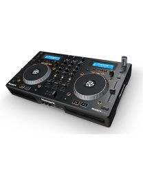 Numark MIXDECK EXPRESS: ALL-IN-ONE, CD, MP3, CONTROLLER, MIXER 3 CANALI + SCHEDA AUDIO USB