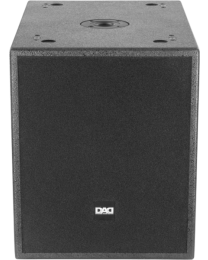 DAD LIVE12SA Subwoofer amplificato 600W (LF12'')box in multistrato 126dB SPL