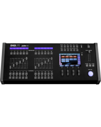 DIGILITE PULSEMX Light console, 3072 canali DMX, 7'' touch display, SMPTE/MIDI input