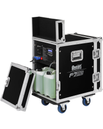 ANTARI ANTF7E Fog+Faze machine in flight-case, 1650W, consumo 140ml/min, DMX, W-DMX