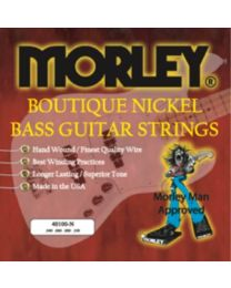 MORLEY 0976 BASS GUITAR STRINGS - NICKEL 40100 LIGHT