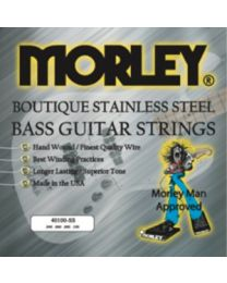 MORLEY 0979 BASS GUITAR STRINGS - STEEL 40100 LIGHT