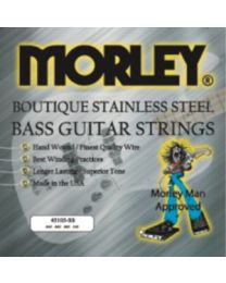 MORLEY 0980 BASS GUITAR STRINGS - STEEL 45105 MEDIUM