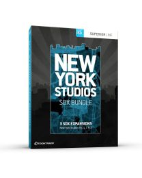 TOONTRACK SDXNYSB-120 SDX New York Studios Bundle