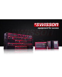 SWISSON SWIXSWTRWDMX3R Wireless DMX Splitter, W-DMX transceiver, rack, XLR3