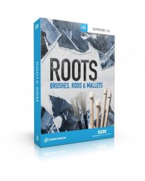 TOONTRACK SDXRBRM-120 SDX Roots: Brushes, Rods and Mallets